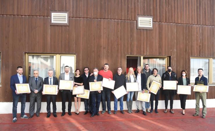 Udruženje sportskih novinara Srbije - nagrađeni