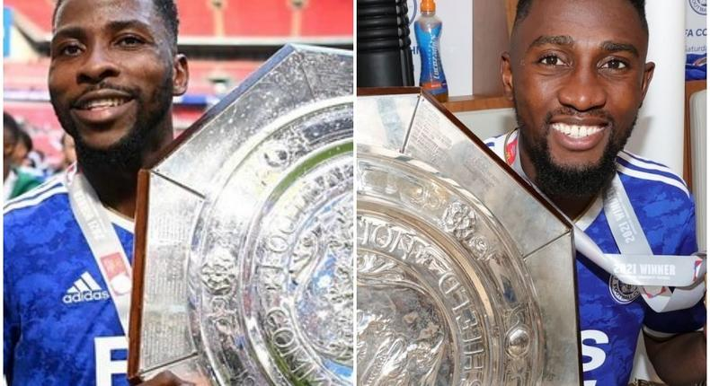 Kelechi Iheanacho and Wilfred Ndidi helped Leicester City to win a Community Shield after a win over Manchester City (Instagram/LCFC)