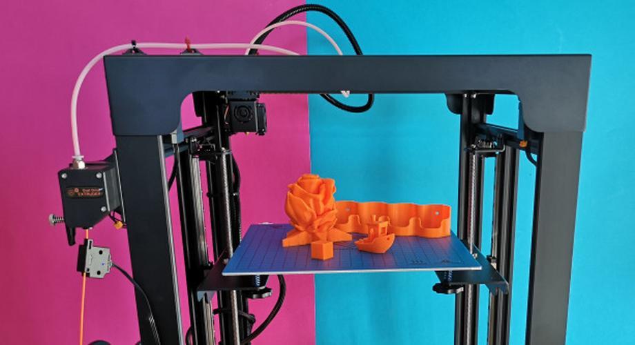 3D-Drucker Sapphire Plus im Test: schnell, mit Macken