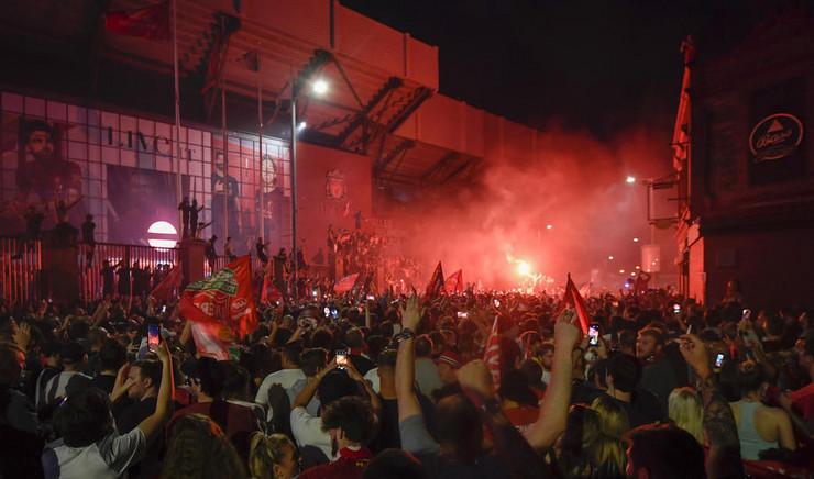 Proslava navijača Liverpula