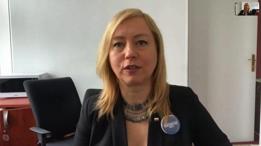 Posłanka Lewicy Hanna Gill-Piątek