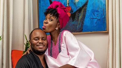 Actress Lala Akindoju and hubby Chef Fregz celebrate 3rd wedding anniversary
