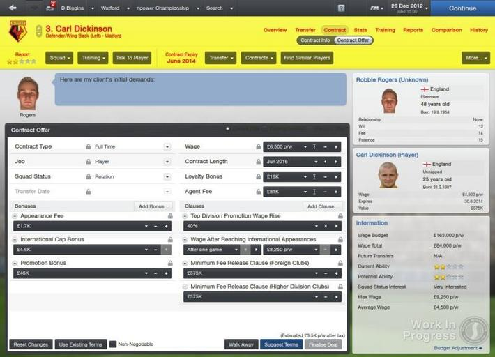 Football Manager 2013 Carl Dickinson_ Contract Offer