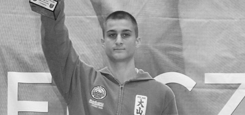 Nie żyje mistrz Polski w kickboxingu. Gniewomir Herbst miał zaledwie 19 lat