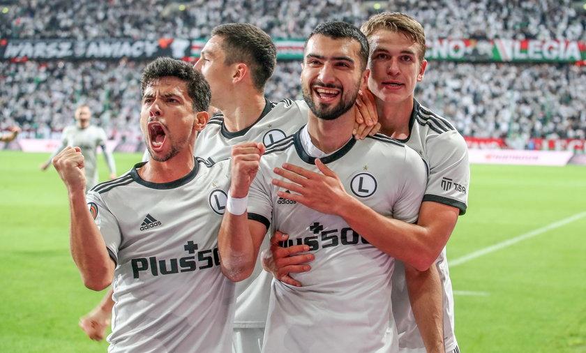 Pilka nozna. Liga Europy. Legia Warszawa - Leicester City. 30.09.2021