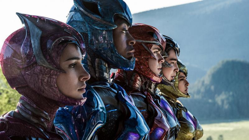 """""""Power Rangers"""": materiały promocyjne"""