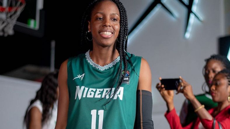 New D'Tigress jerseys were unveiled ahead of 2019 Afrobasket (AFA Sports/Instagram)
