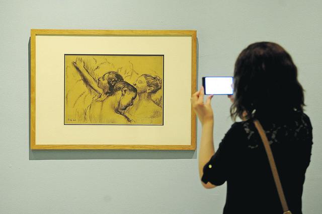 Izložba Edgara Degaa u Galeriji SANU