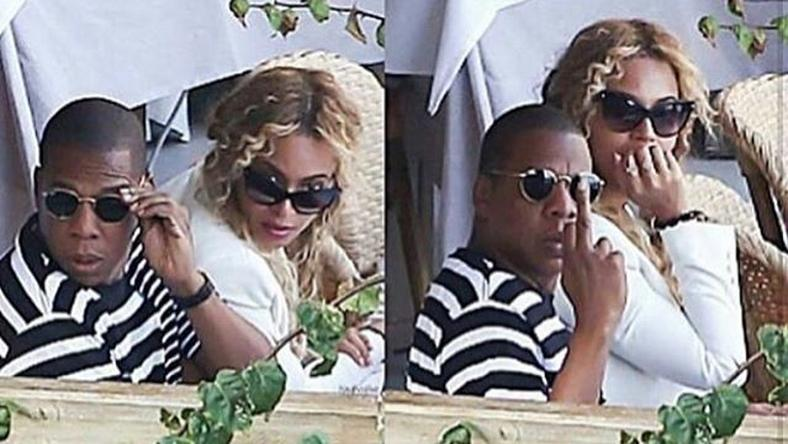 The Carter's on vacation in Capri, Italy
