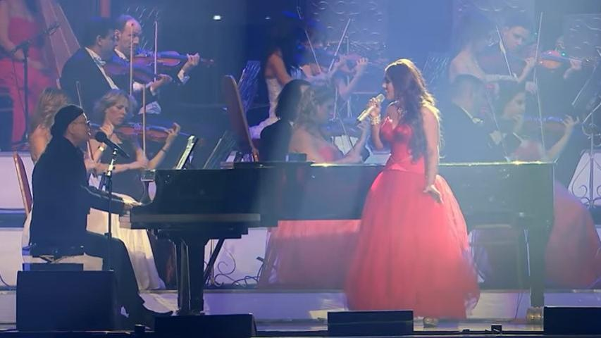 Mága Jennifer közös dallal kívánt jobbulást Balázs Fecónak / Fotó: YouTube