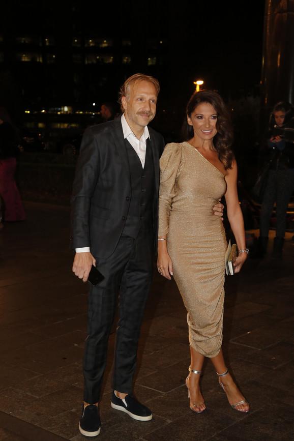 Sanja Marinković i Milan Kalinić