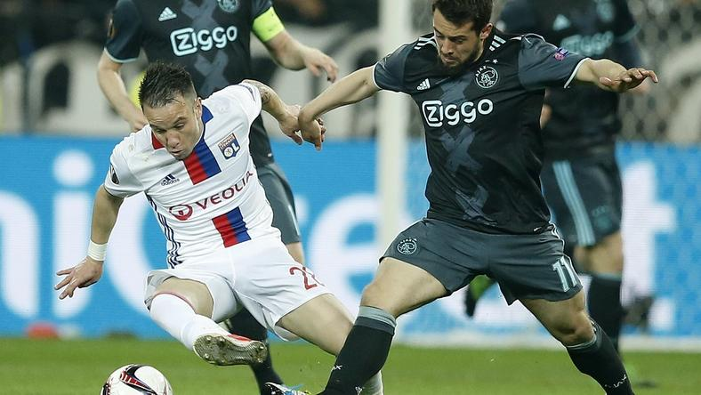 FRANCE SOCCER UEFA EUROPA LEAGUE (Olympique Lyon vs Ajax Amsterdam)