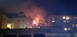 Komisariat policji stanął w płomieniach!