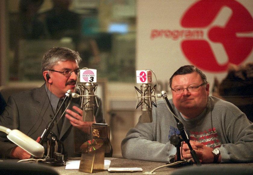 Marek Niedźwiecki  i Wojciech Mann