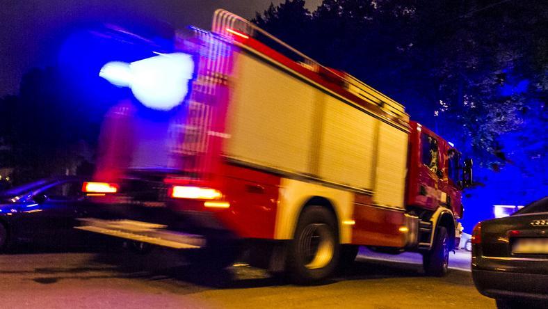 Dzisiaj w nocy pomorscy strażacy byli najczęściej wzywani do powalonych drzew