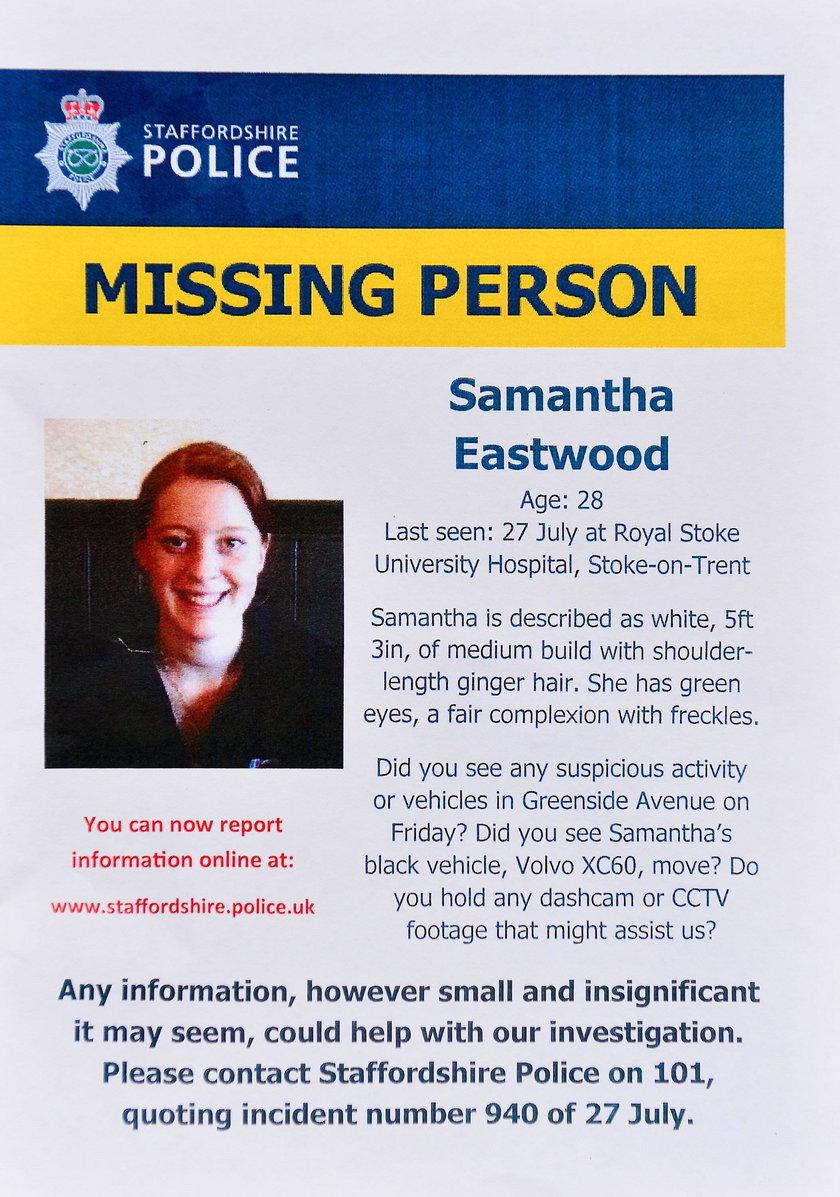 Policyjny apel o pomoc w poszukiwaniach Samanthy
