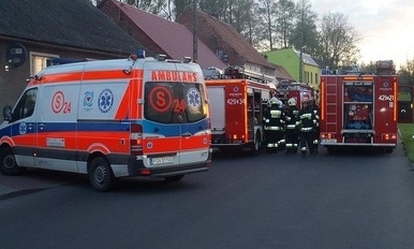 Tragiczny pożar w Łopiennie