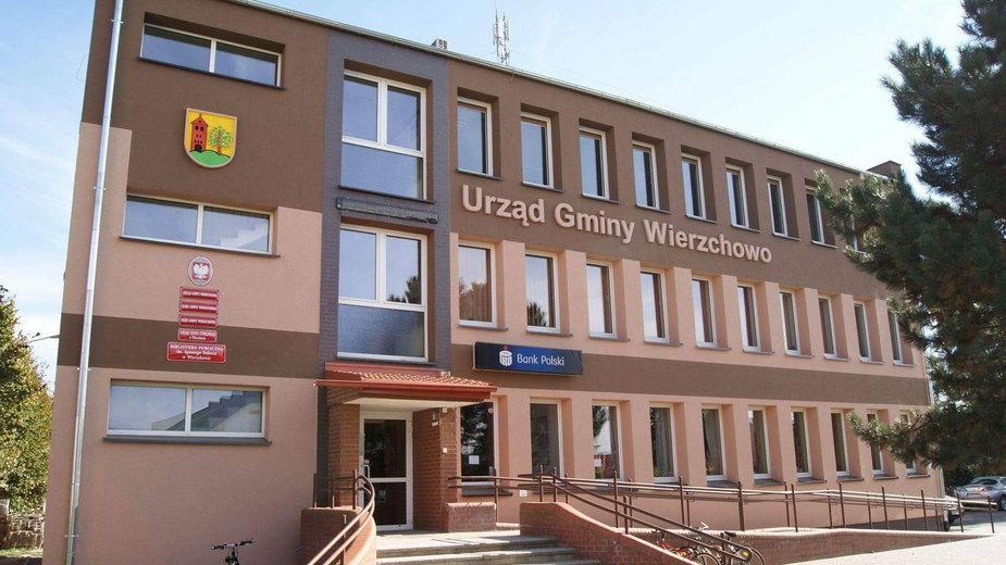 Urząd Gminy Wierzchowo. Fot. UM