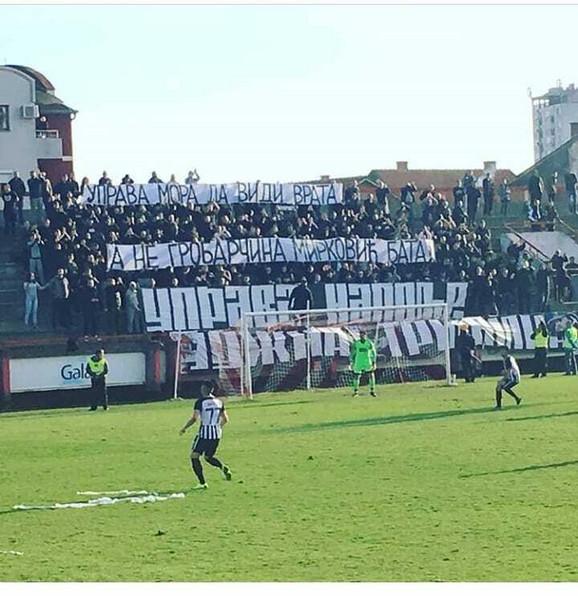 Navijači Partizana su pokazali šta misle o odlasku Zorana Mirkovića