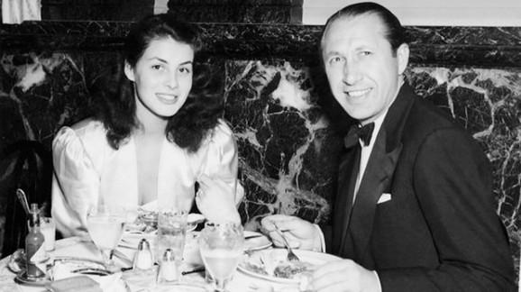 Duško Popov sa prvom suprugom