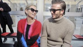 Piękna Kate Moss i stylowy David Beckham wzbudzili spore zainteresowanie fotoreporterów