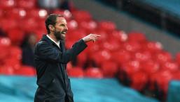 England manager Gareth Southgate Creator: JUSTIN TALLIS