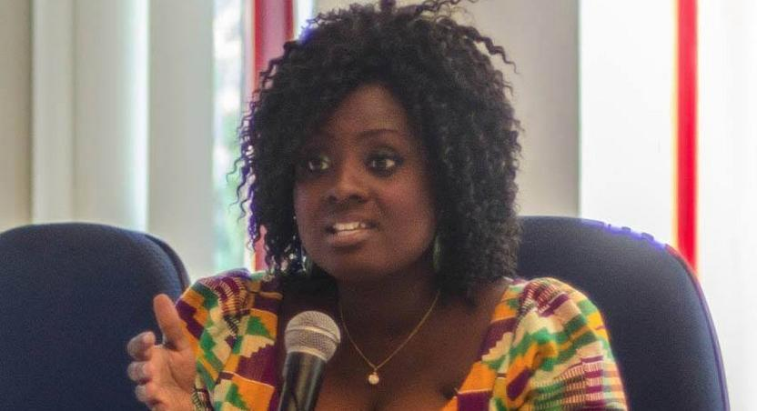 Former Deputy Communications Minister, Victoria Hamah