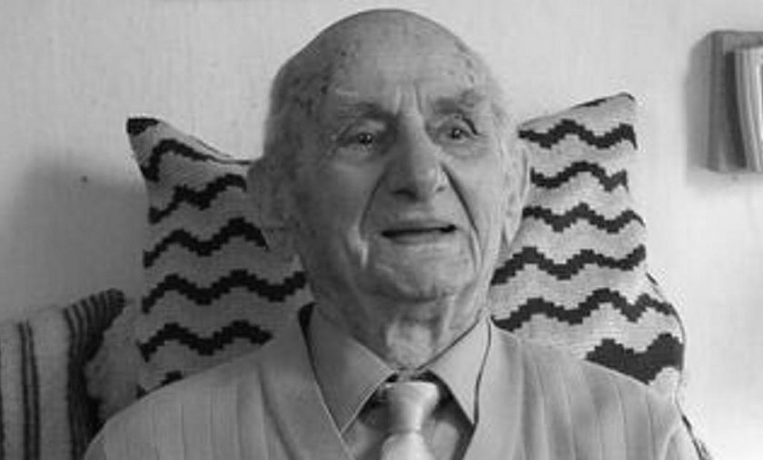 Nie żyje Gustav Gerneth. Miał 114 lat