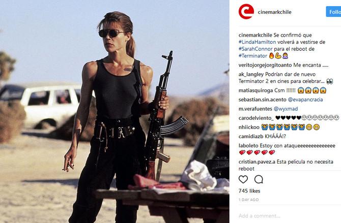 """Važila je za seks simbol nakon što se pojavila u """"Terminatoru"""""""