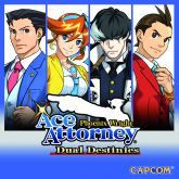 Okładka: Phoenix Wright: Ace Attorney – Dual Destinies