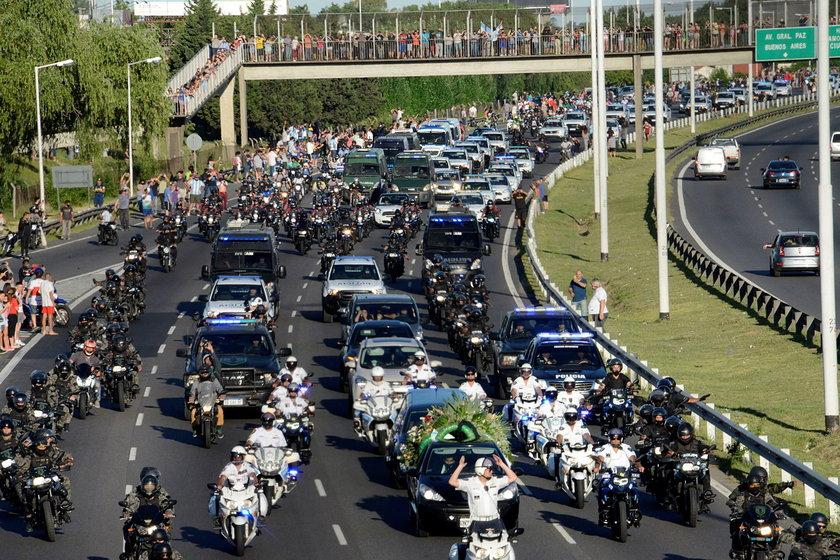 Diego Maradona, pogrzeb
