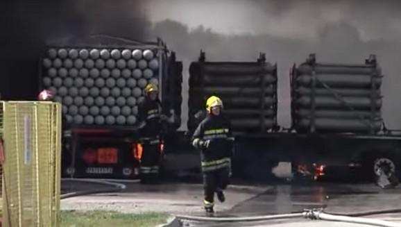 Vatrogasci u stanju uzbune