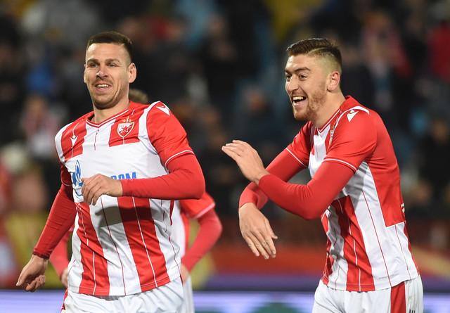 Detalj sa meča FK Crvena zvezda - FK Vojvodina