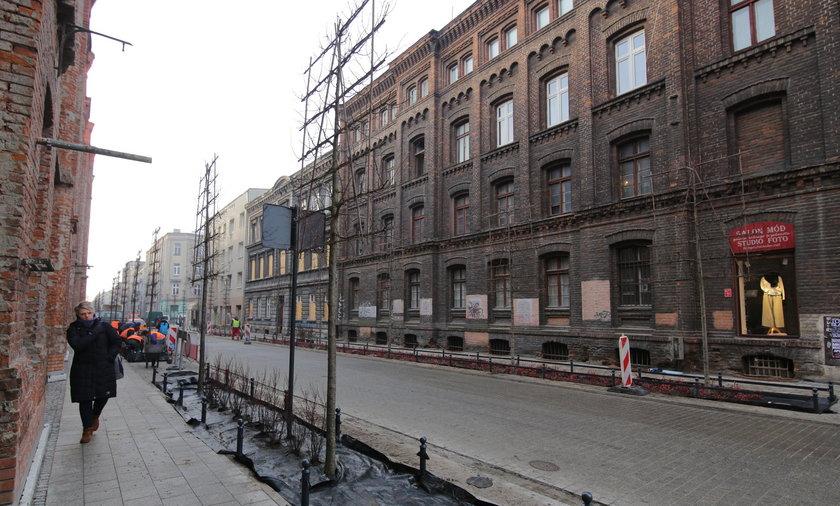 Ulica Gdańska po remoncie