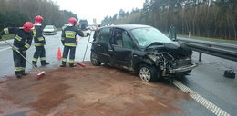 Groźny wypadek na A4. Autostrada zablokowana
