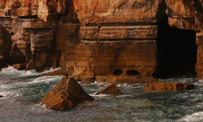 Boca de Infierno to jedna z atrakcji miejscowości Cascais