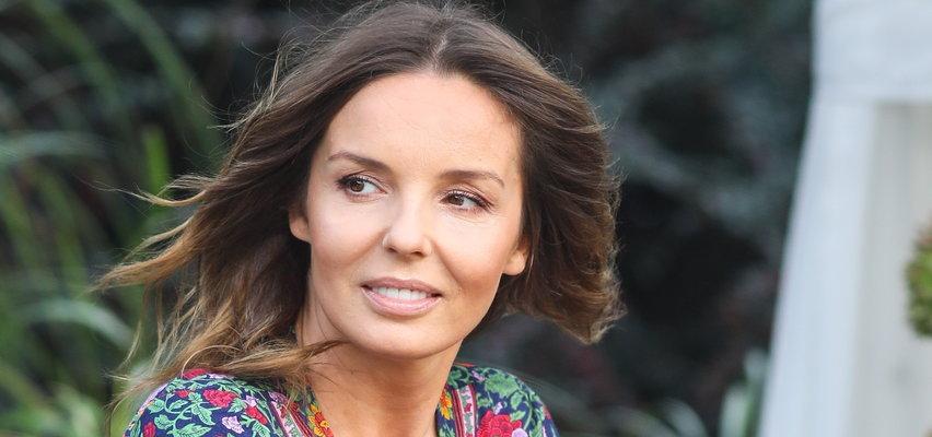 """Agnieszka Włodarczyk zaszczepiła syna. Było to dla niej trudne przeżycie: """"Nawet nie płacze jakoś za bardzo"""""""