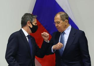 Rosja: Spotkanie Blinkena i Ławrowa pozytywnym sygnałem