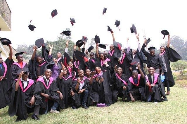 The University of Nairobi graduates.