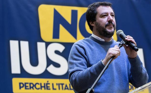 Matteo Salvini, przewodniczący Ligi Północnej, skłania się ku rządowi powołanemu przez centroprawicę