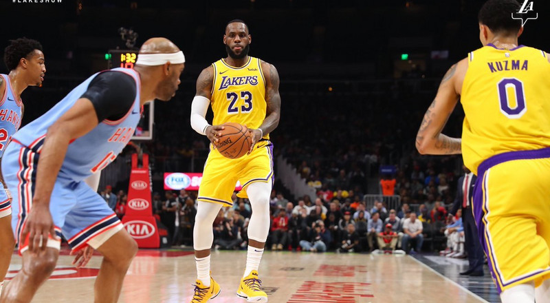 Lakers in danger of missing NBA playoffs after loss to Hawks