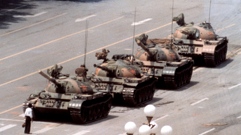 Protest na placu Tiananmen