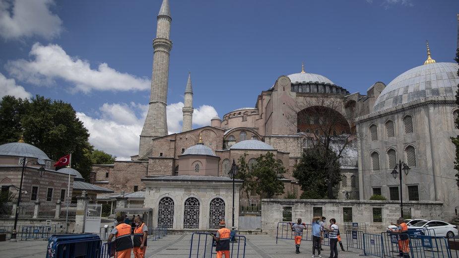 Jest decyzja tureckiego sądu ws. Hagia Sophia