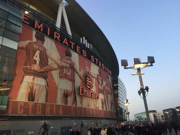 Sve van stadiona zavređuje divljenje, počev od obezbeđenja pa do reke navijača