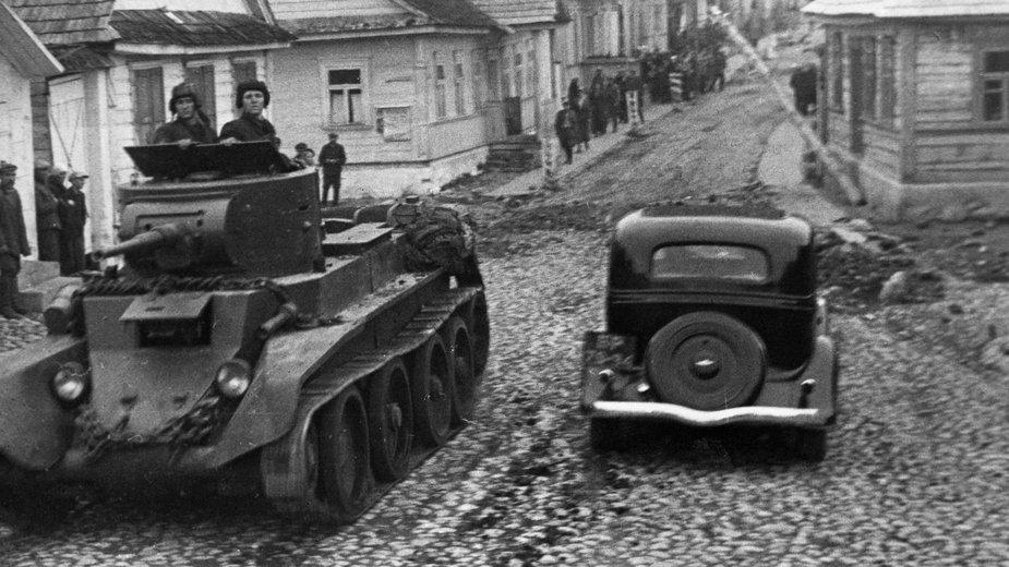 Armia Czerwona, Raków, Polska, 1939 r.
