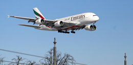 Kolosalny Airbus A380 wylądował na lotnisku Chopina w Warszawie