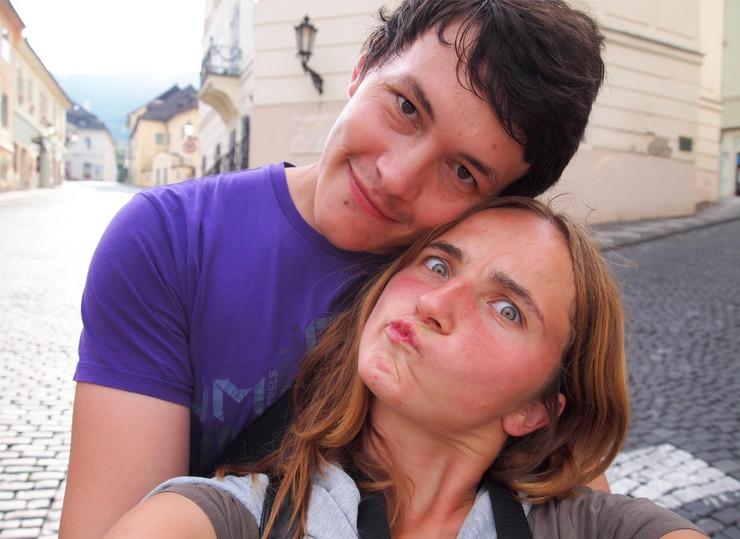 Jan Kucijak i Martina Kušnirova Facebook Martina Kušnírová