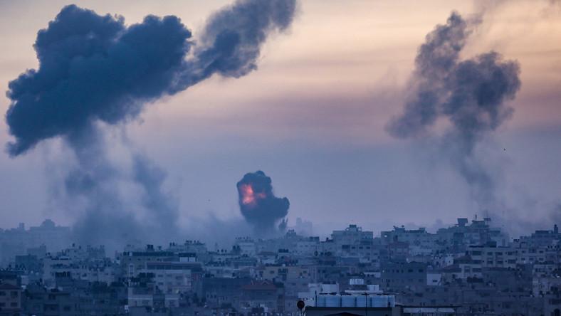 Izraelski atak w Gazie