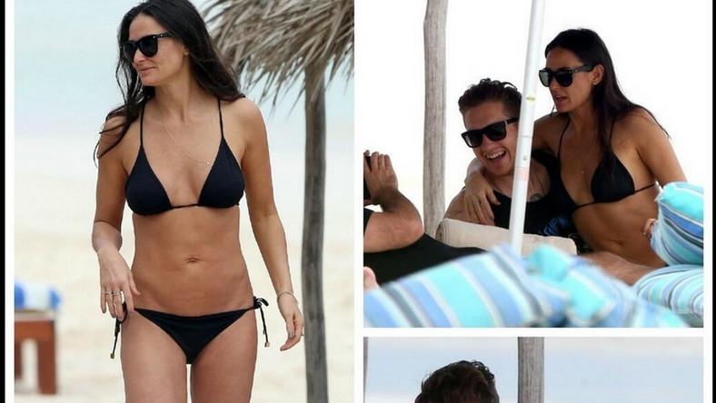 Para wybrała się razem na wakacje do Meksyku. Na miejsce przybyli również paparazzi i sfotografowali parę figlującą na plaży
