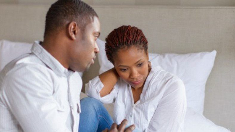 Image result for black couple unhappy
